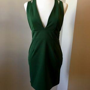 NBD Late Night Dress in Emerald M